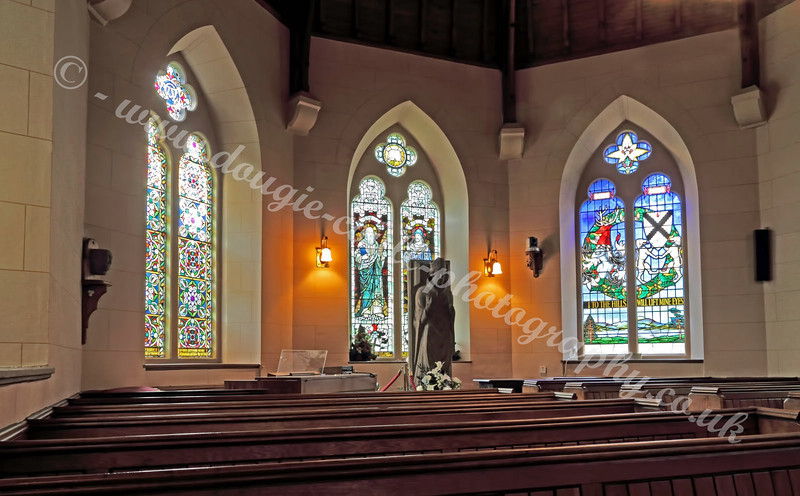 Luss Church Interior - 18 August 2011