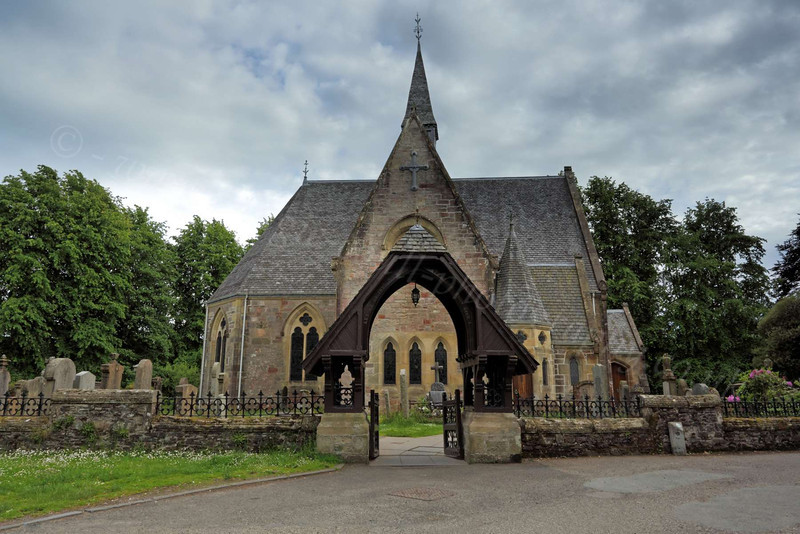 Scottish Church - Luss - 18 June 2012