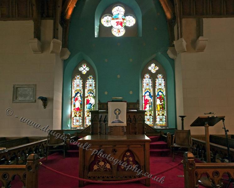Luss Church Interior
