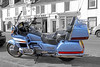 Honda 'Goldwing' Motorcycle - Millport - 17 March 2012