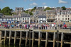 Passengers Waiting to Board Waverley - Millport - 12 July 2012