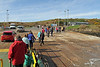 Disembarking from Loch Shira at Cumbrae Slip - 17 March 2012