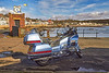 Gold Wing Motorcycle at Millport - 17 March 2012