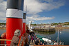 PS Waverley Approaching Millport - 12 July 2012
