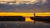 Sunset at Buckie Harbour - 31 August 2020