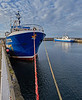 Artemis in Buckie Harbour - 12 April 2016