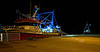 'Scotia' at Buckie Harbour at Night - 1 September 2009