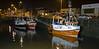 Boats in Buckie Harbour