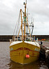 'Lynn Marie' in Buckie Harbour - 4 September 2009