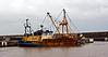 'Kestrel' in Buckie Harbour - 4 September 2009