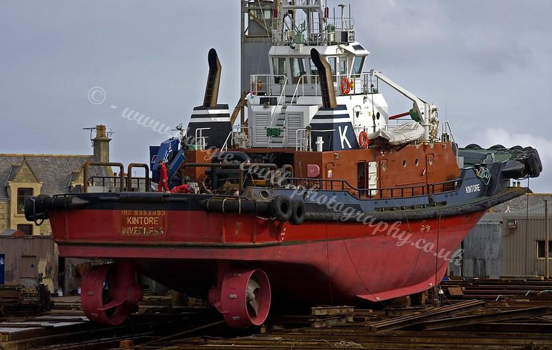 Kintore - Buckie Shipyard Slip - 6 October 2008