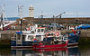Busy Harbour Scene - Buckie
