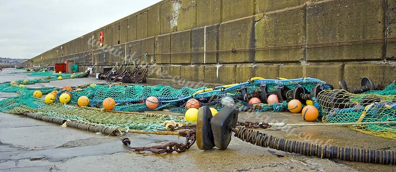 Nets - Buckie Harbour