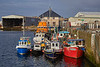 Small Boats in Buckie Harbour - 12 April 2016