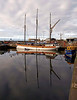 Reflections of Buckie Harbour - 8 August 2012
