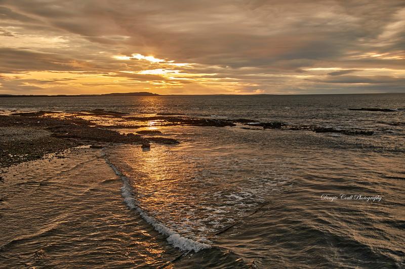 Sunset from Buckpool - 10 September 2020