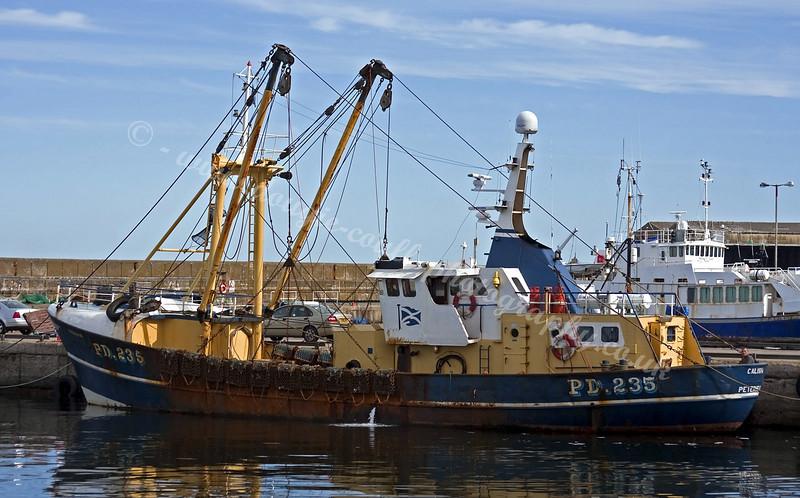 'Calisha' - Peterhead Trawler at Buckie Harbour