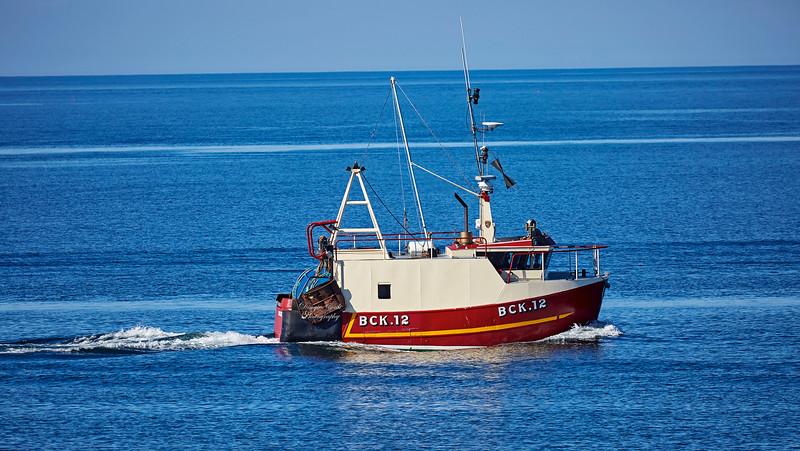 Trawler 'Boy Sam' heading to Buckie Harbour - 24 June 2018