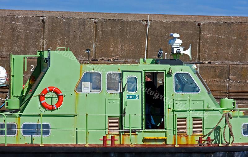 Hoxa Lass at Buckie Harbour
