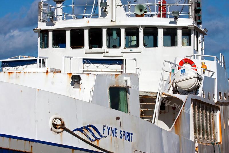 'Fyne Spirit' (formerly RFA support vessel 'Cockchaffer')