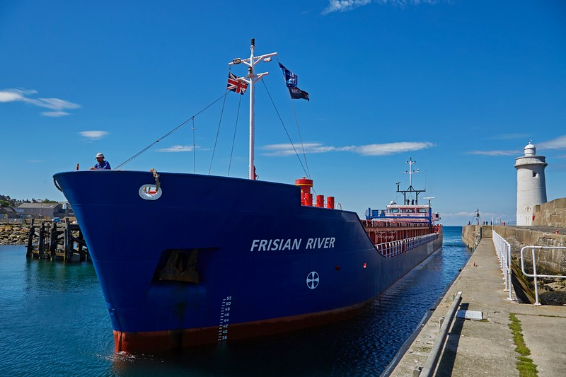 Frisian River at Buckie Harbour - 1 July 2018