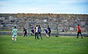 Lads Playing Football at Buckpool Old Harbour - 10 September 2020