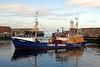 'Hunter' Arrives in Buckie Harbour