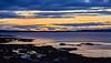 Sunset from Buckpool - 4 October 2021