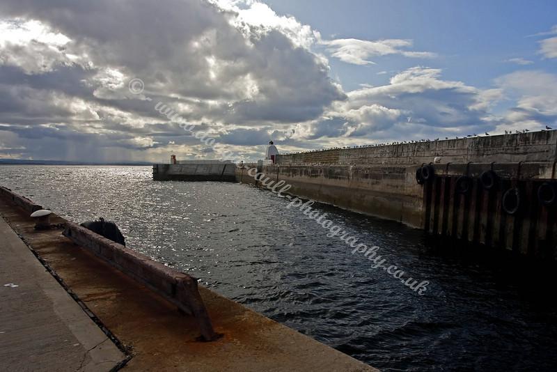 Burghead Harbour Entrance