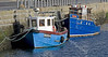 Small Boats in Burghead Harbour