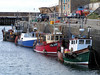 Small Craft in Burghead Harbour