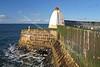 Burghead Harbour Head