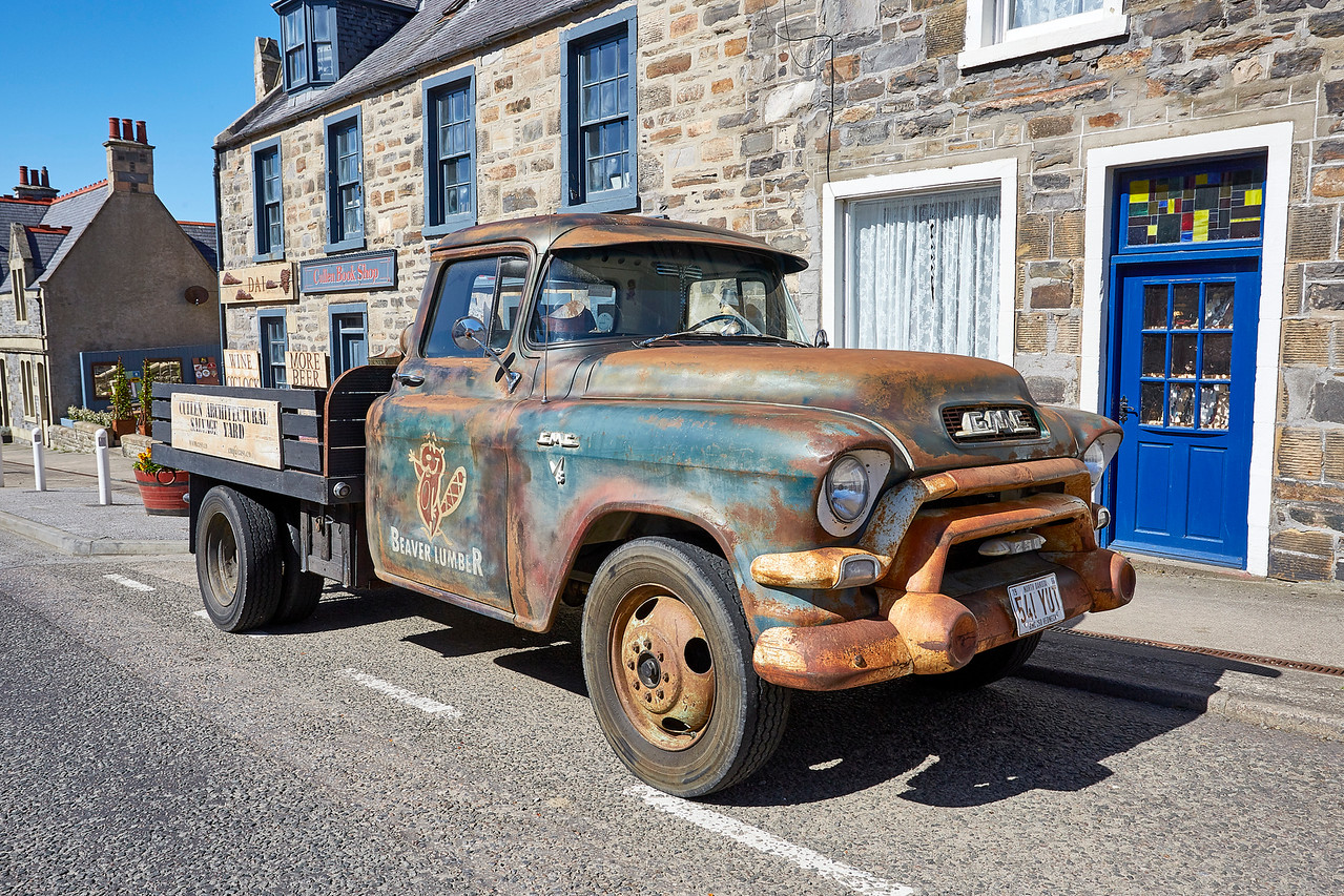 Vintage Vehicle at Cullen - 14 May 2018