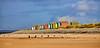 Beach Huts at Findhorn - 29 September 2021