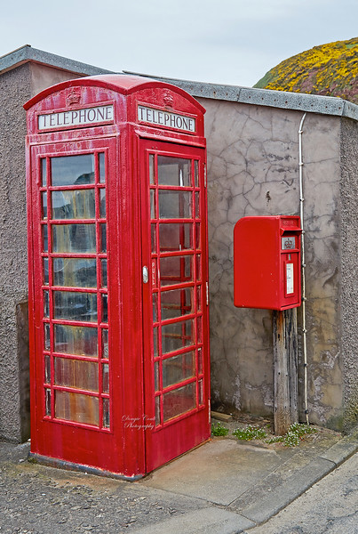 The Famous Telephone Kiosk at Pennan - 7 May 2018