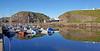 Reflections of Portknockie Harbour - 10 August 2012
