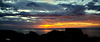 Sunset from Portknockie - 7 June 2019