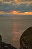 Sunset from Portknockie - 8 June 2021