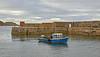 Endeavour (BCK 31) at Portknockie Harbour - 10 September 2020
