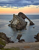 Bow Fiddle Rock at Portknockie - 8 June 2021
