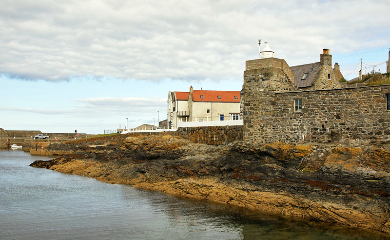 Portsoy Harbour - 1 September 2020