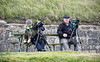 Twitchers at Spey Bay - 10 September 2020