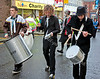 Drum Band - played their Hearts out and made a great contribution