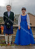 Gala King & Queen of Port Glasgow - Await the Arrival of 'Big Man'