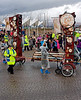 Support Team Lead the Way Across Port Glasgow
