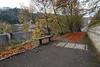 Footpath to the Heritage Area - New Lanark - 13 November 2011