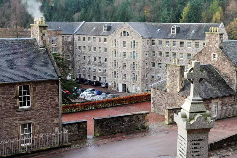 Heritage Area - New Lanark - 13 November 2011