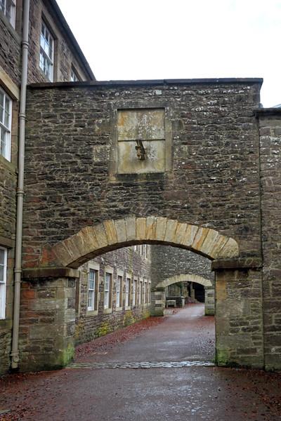 Heritage Area Arch - New Lanark - 13 November 2011