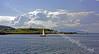 Yacht Passes Through