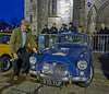 Final Polish Before the Start of the Monte Carlo Classic Car Rally at Paisley Abbey - 23 January 2014